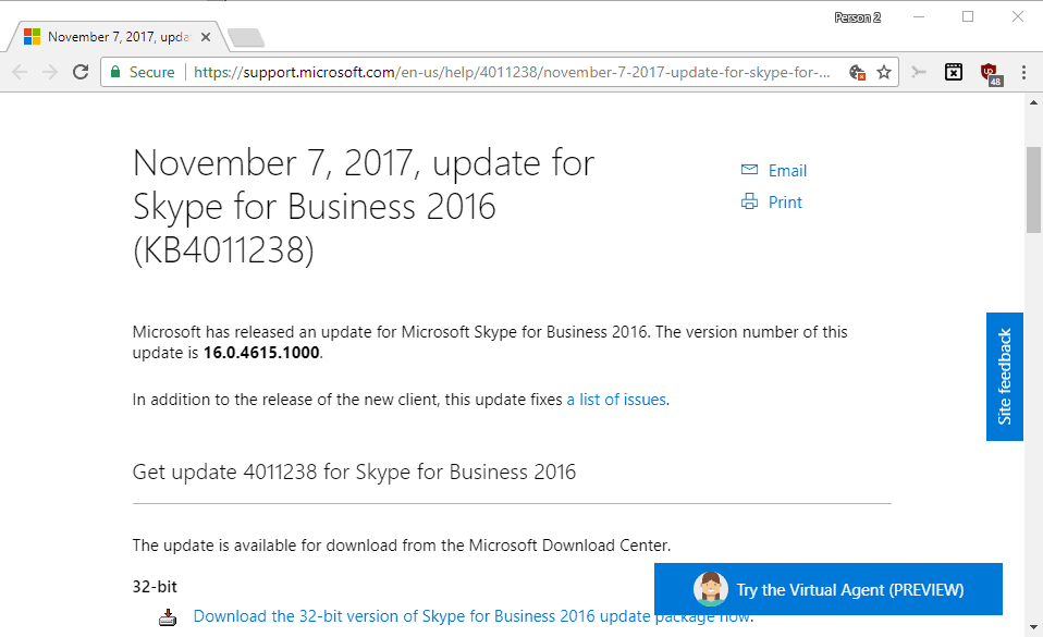 microsoft office 2016 patch