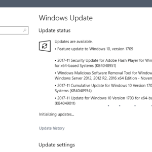 windows security updates november 2017