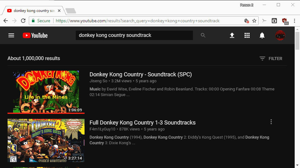 youtube game soundtracks