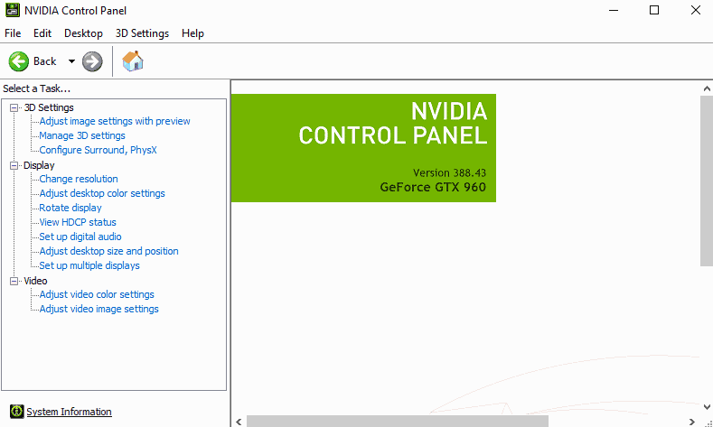 nvidia driver 388.43