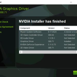 nvidia graphics driver 388 71