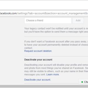should you delete accounts