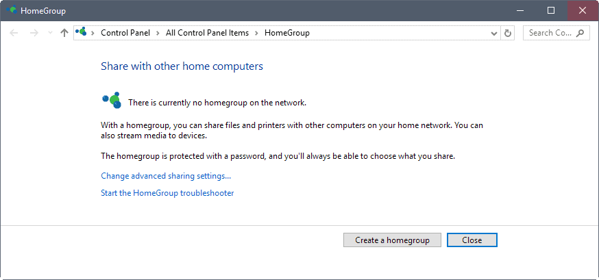 Windows 10: Microsoft retires HomeGroup