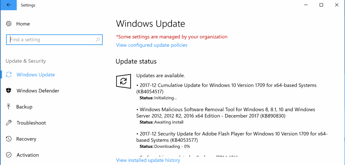 Windows 10 flash player update | Windows 10 getting security updates