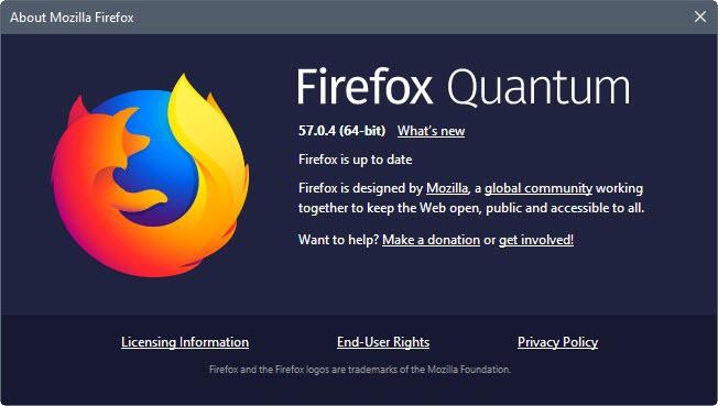 firefox 57.0.4