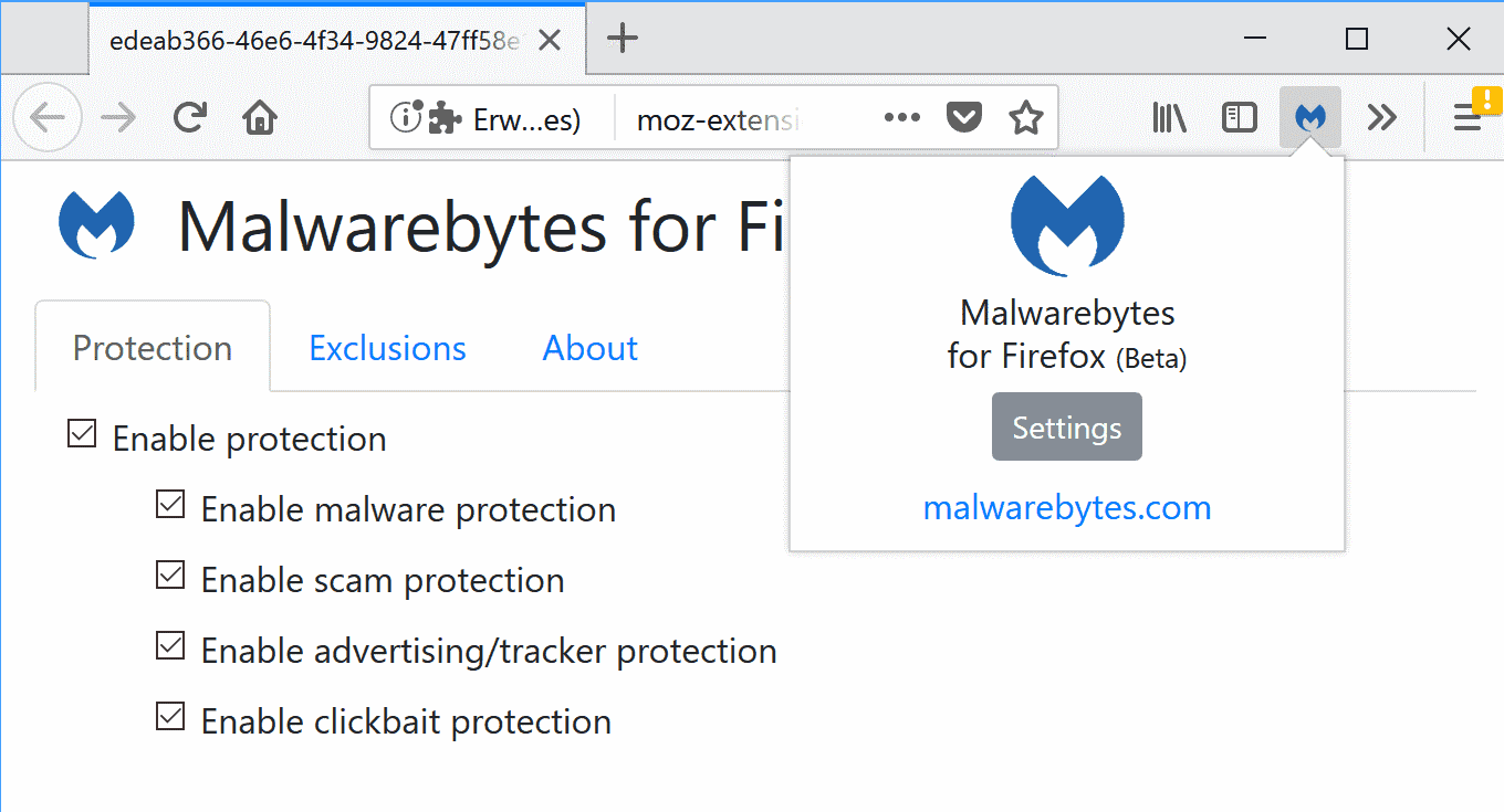 malwarebytes for firefox