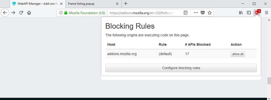 webapi block