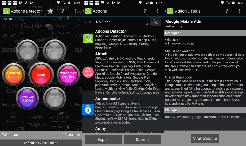 addons detector android