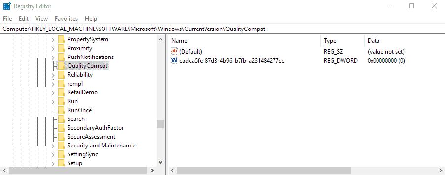 antivirus registry key windows