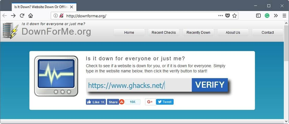 Find out why you can't access a website or service on the Internet