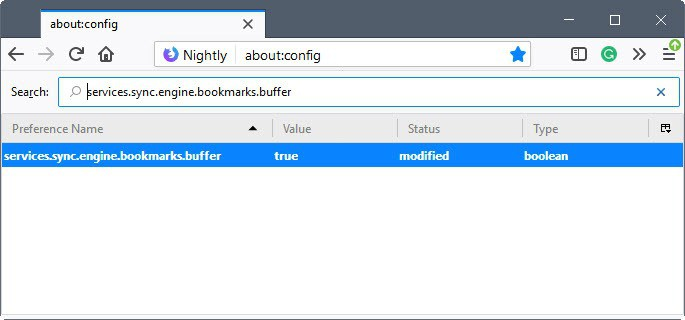 firefox bookmark syncing