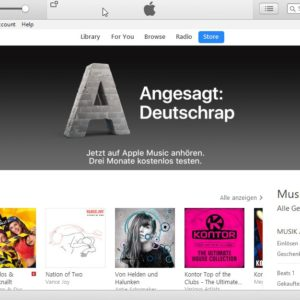 itunes xp vista