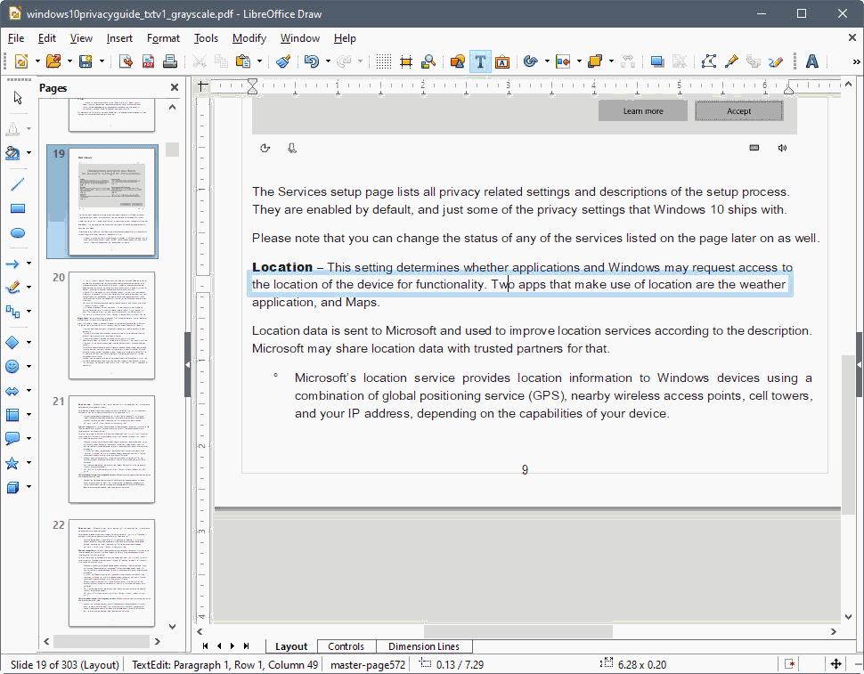 libreoffice pdf editing