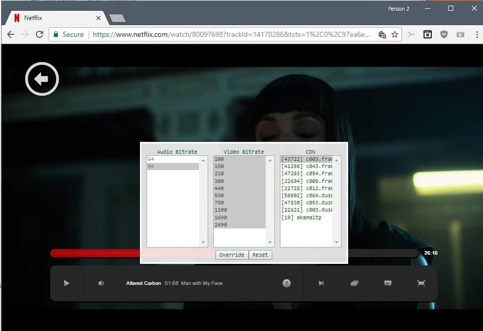 How to change the Netflix video quality on your computer - gHacks