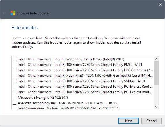 How to install optional updates on Windows 10 - gHacks Tech News