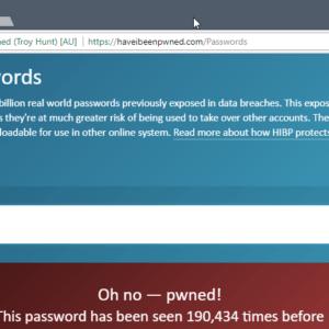 pwned passwords