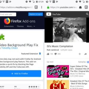 video background play fix firefox