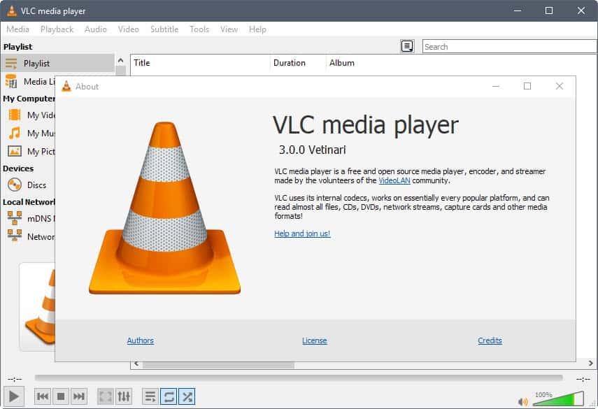vlc media player 3.0