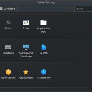 Desktop Behavior KDE