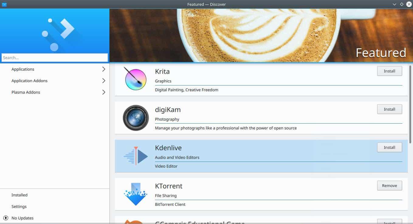 KDE Discover