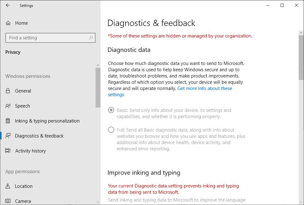 diagnostics windows 10