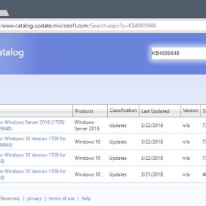 kb4089848 windows 10