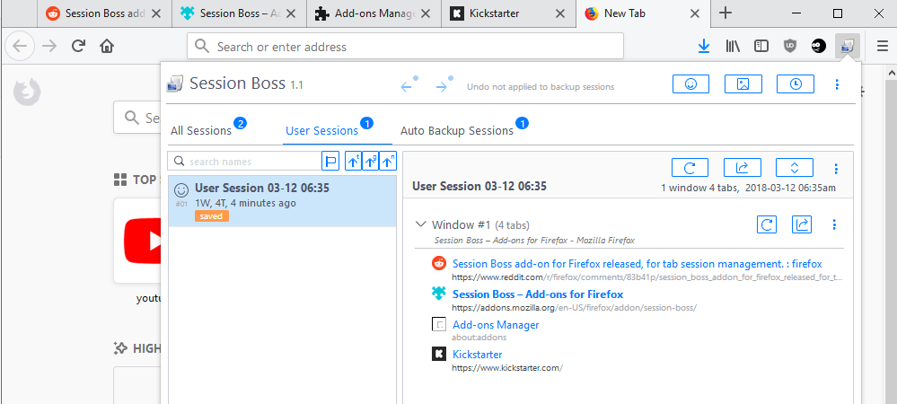 session boss firefox