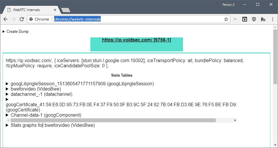 webrtc connections