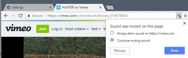 whitelist sound chrome