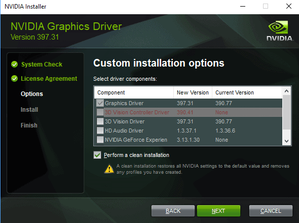 Nvidia GeForce Driver 397.31: RTX Support, file cleanup