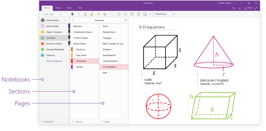 onenote for windows