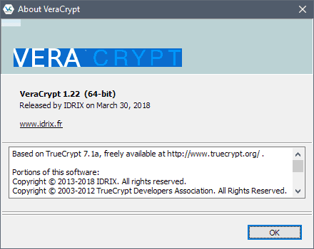 VeraCrypt 1.22 encryption software update released