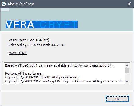 veracrypt 1.22