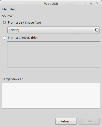 Easily make a Windows bootable USB from within Linux Mint