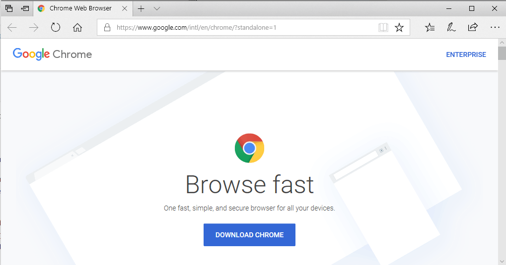 chrome canary download for pc