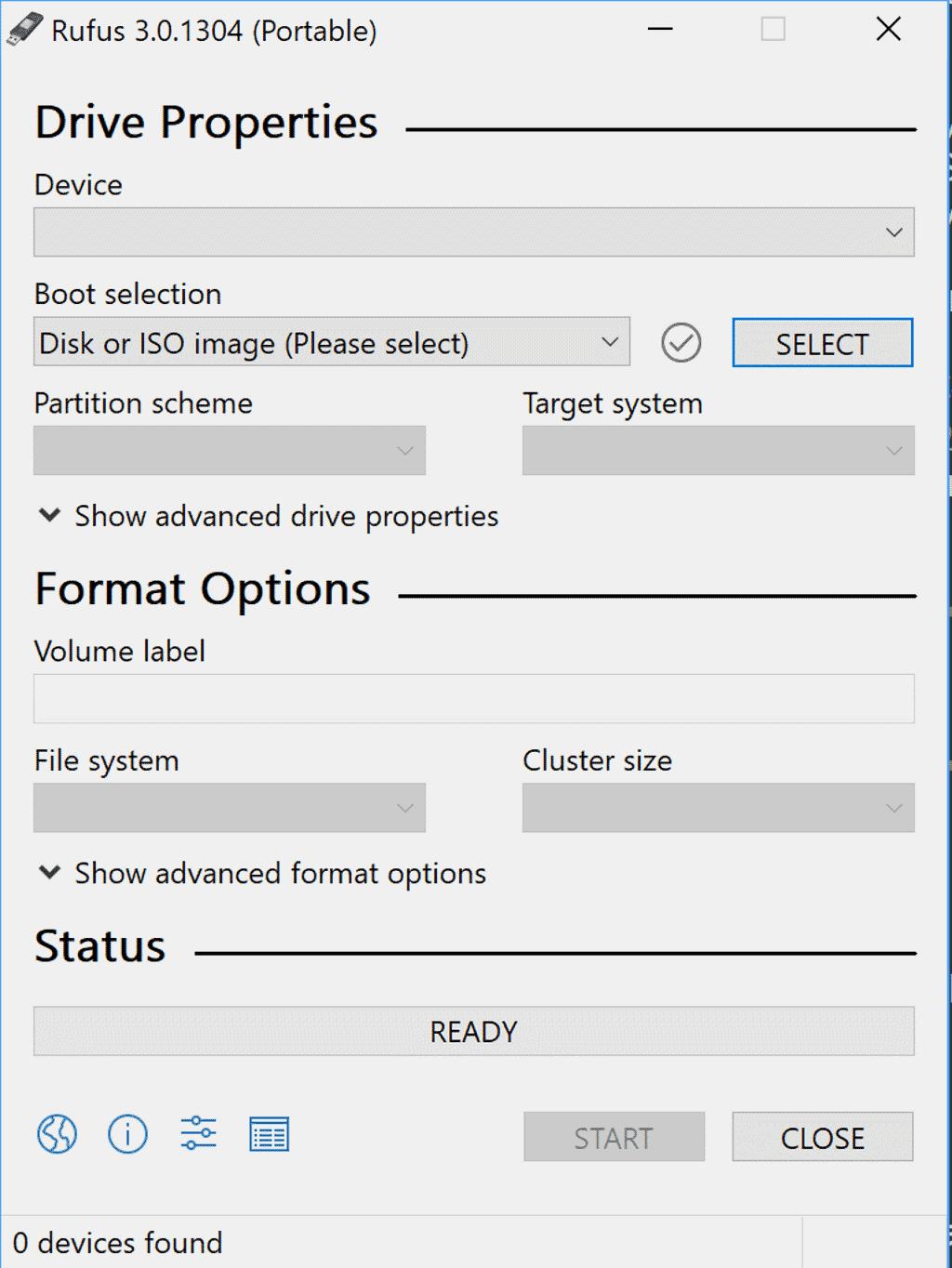 make windows 8 bootable usb rufus