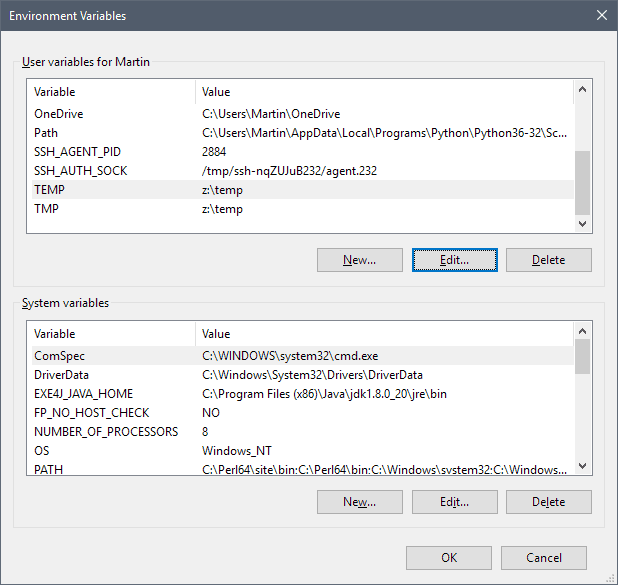 RAM Disk windows