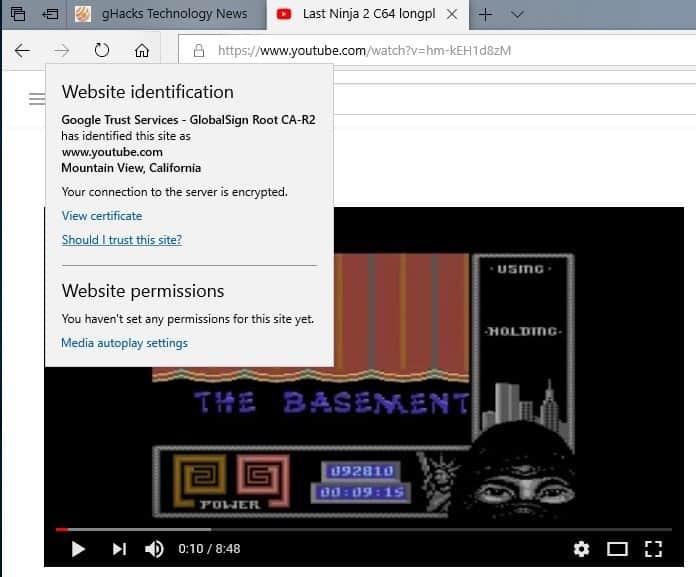 edge video autoplay