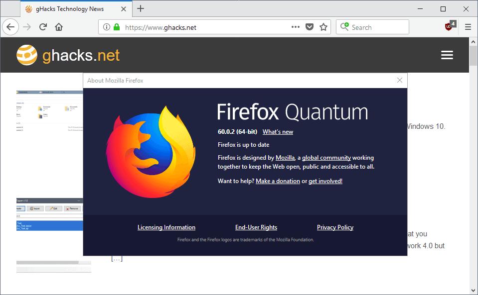 firefox 60.0.2