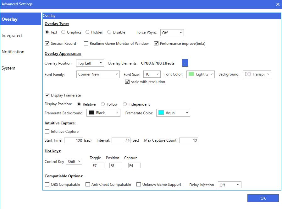 hardware monitor customize