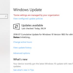 KB4340917 windows 10 update