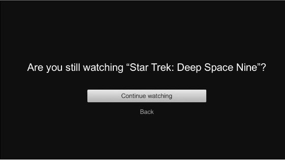 are you still watching netflix