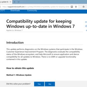 compatibility update
