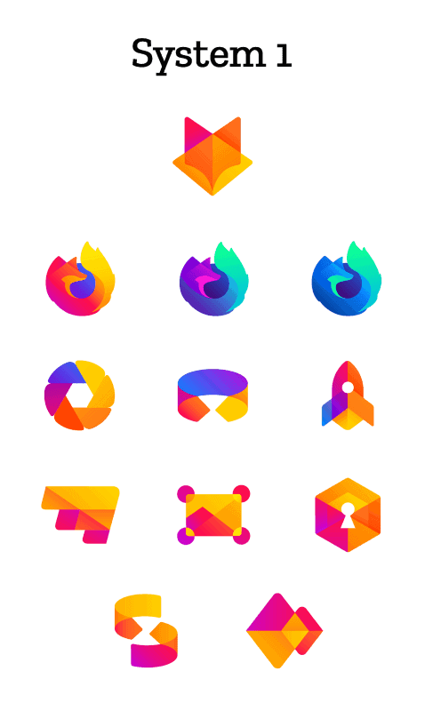 firefox design system one