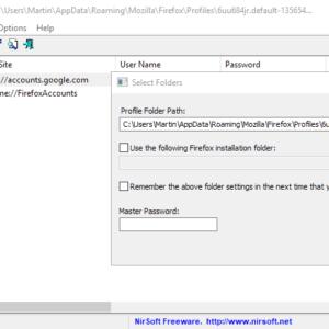 firefox export passwords