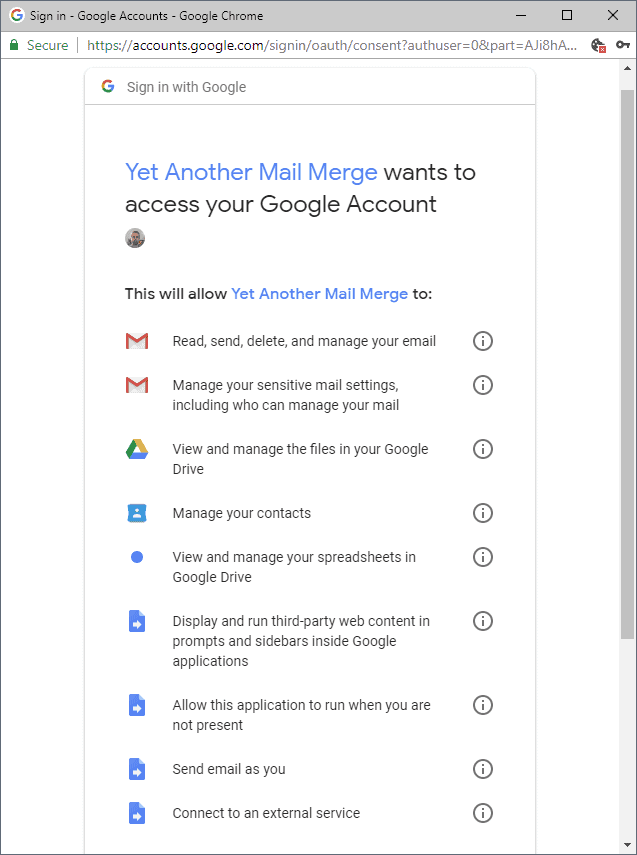 Third-parties may read your Google Mail emails if you allow it