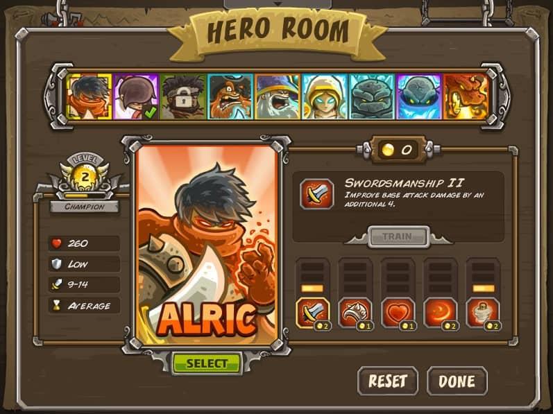 heroes skills