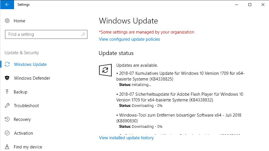 microsoft windows security updates july 2018