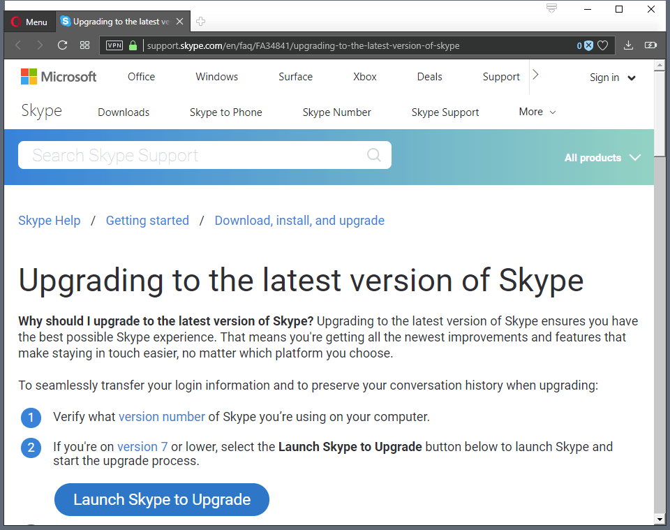 Microsoft retires Skype Classic on September 1 2018