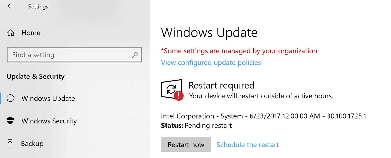 surface pro restart